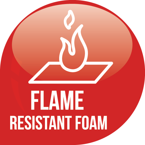 Flame Resistant Foam Icon