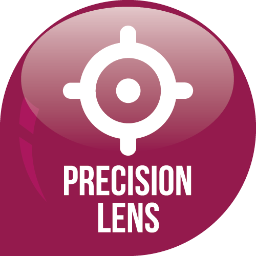 Precision Lens Technology Icon