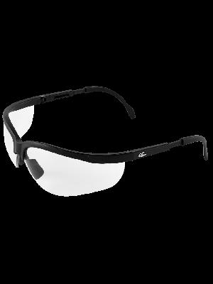 Picuda® Clear Anti-Fog Lens, Matte Black Frame Safety Glasses - BH461AF