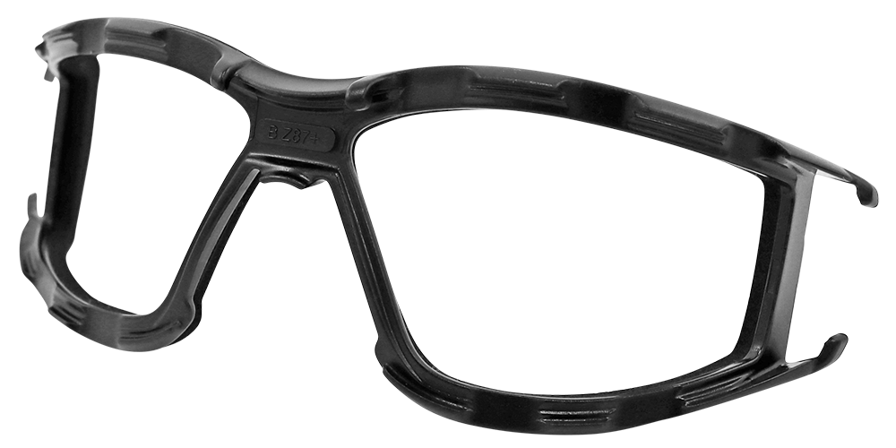 CG5 Clear Performance Fog Technology Lens, Matte Black Frame Convertible Safety Goggles - BH3061PFT