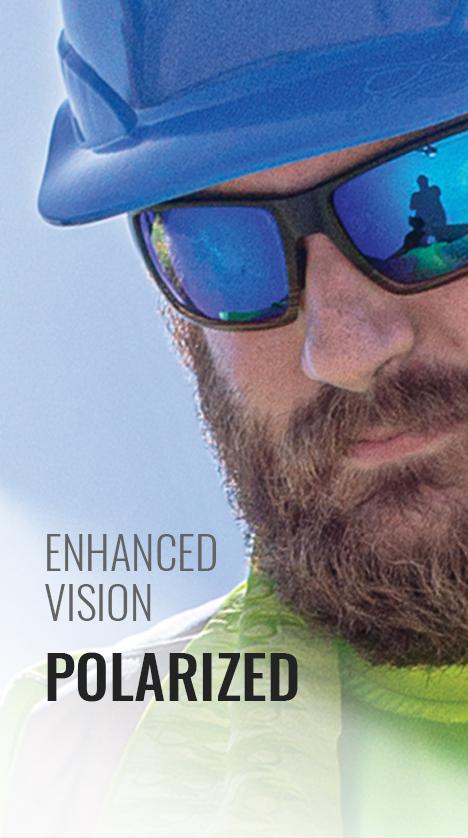 Enhanced Vision Polarized Safety Glasses