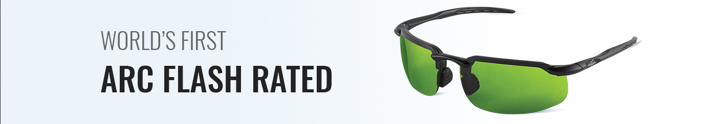 World's First Arc Flash Rated Safety Glasses